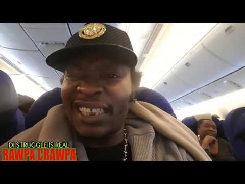 Rawpa crawpa On Is Way To Jamaica  ( 8 Mar 2017 )  Jamaican Vlog pt1