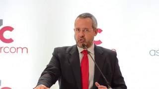 Conferencia de Adrián Cordero en el lanzamiento de AsoDircom