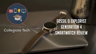DEFINITELY NOT AN APPLE WATCH | Fossil Q Explorist Gen 4 Review