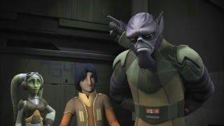 Star Wars Rebels Season 2 Episode 13 - Legends of the Lasat Footage