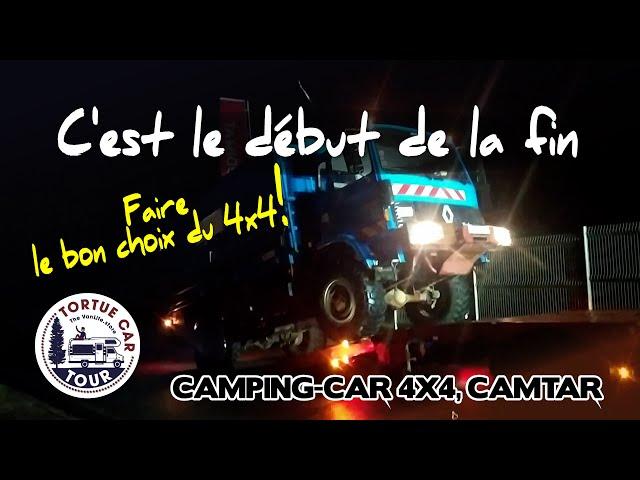 #81 - C'est le début de la fin du camping-car / camion 4x4 - Aménagement