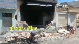 Hiện trường vụ nổ căn nhà 3 tầng khiến một người chết ở Vũng Tàu