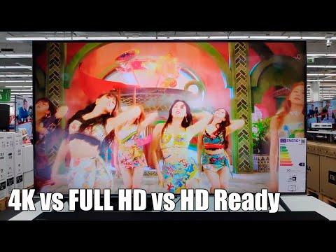 Consejos para comprar una television en 2017. Vol. 2 - Resolucion. HD Ready vs Full HD vs 4K