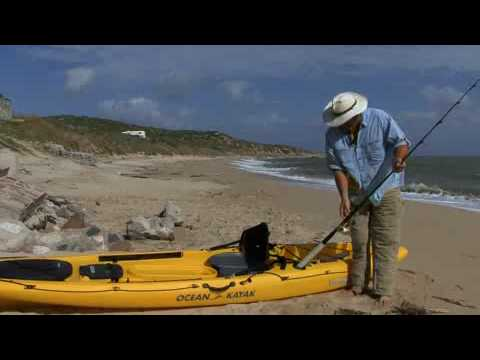 How to build your own kayak fishing rod holder youtube for Make your own fishing rod