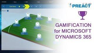 Demonstrating Microsoft Dynamics 365 Gamification