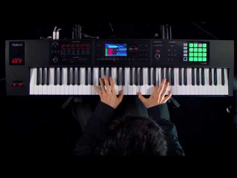 Roland FA06FA07FA08 Music Workstation Performance