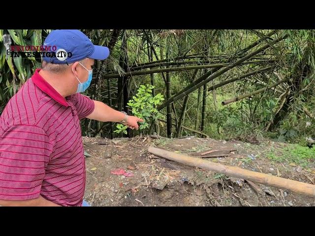 Barrio Medio Ambiente de Circasia, Quindío, en riesgo de derrumbe