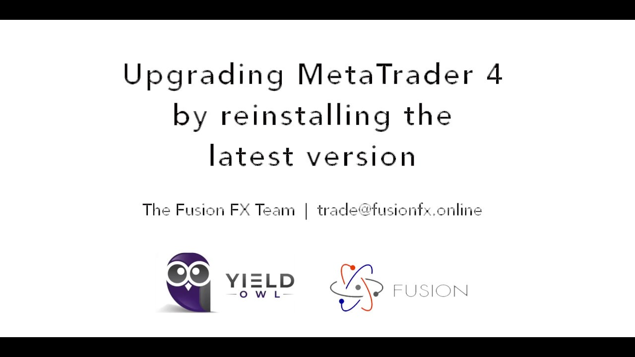 Metatrader 4 Vps Help Guides How To Upgrade Mt4 To A New Version