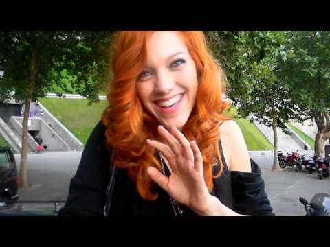 Видео-обращение Анаис к русским поклонникам