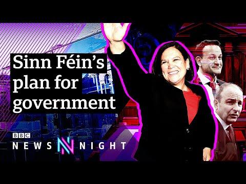 Sinn Féin on the possibility of a united Ireland - BBC Newsnight