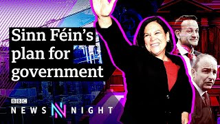 Sinn Féin on the possibility of a united Ireland - BBC Newsnight