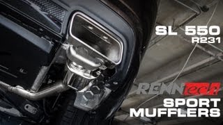 SL 550 (R231) RENNtech Sport Muffler