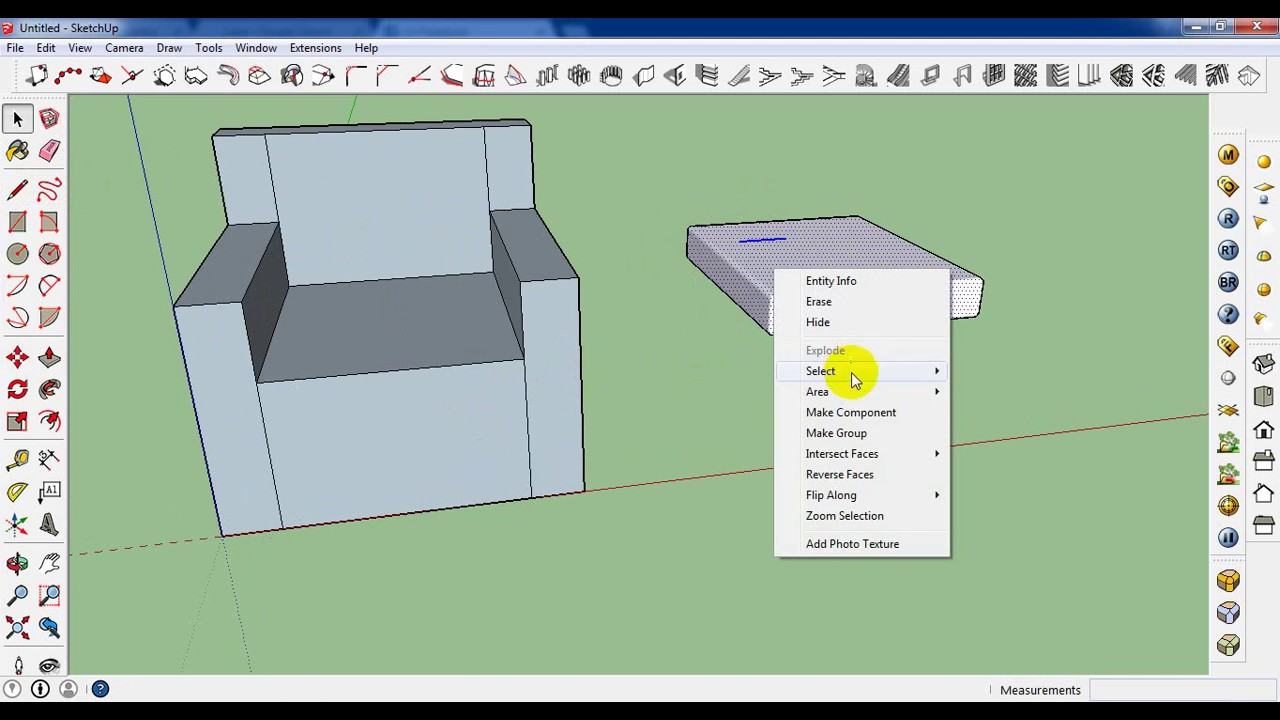 How To Make A Sofa In Sketchup Bangla Tutorial YouTube
