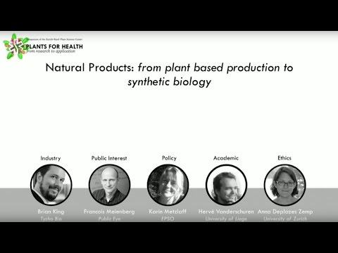 Natural Products-from plant based production to synthetic biology