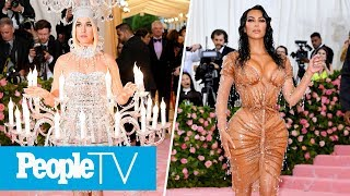 Kim Kardashian's Splashy Met Gala Dress, Katy Perry Lights Up Met Gala Red Carpet | PeopleTV