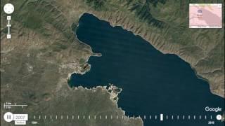 Lake Sevan - Timelapse 1984-2016