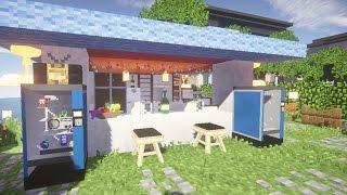 Маленькое кафе в майнкрафт - Дизайн - Серия 10 - Строительный креатив 2(, 2015-04-15T19:19:01.000Z)