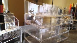 Large Acrylic Makeup Organizer Review