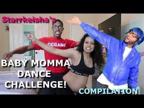 Starrkeisha - Baby Momma Dance Challenge! 😂 (COMPILATION)   Random Structure TV