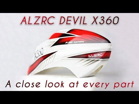 ALZRC DEVIL 360 Standard Combo Kit Unboxing - 2525 Motor and V4 50A ESC
