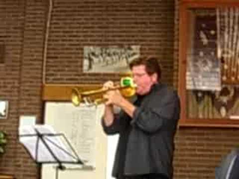 Rehersal Wayne Bergeron with Holland bigband