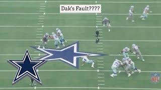 How Many Sacks Were Dak Prescott's Fault?? || Dallas Cowboys Film Session