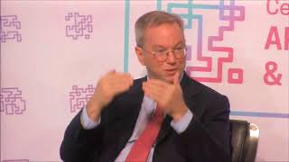 China Might Beat The US in Artificial Intelligence - Eric Schmidt