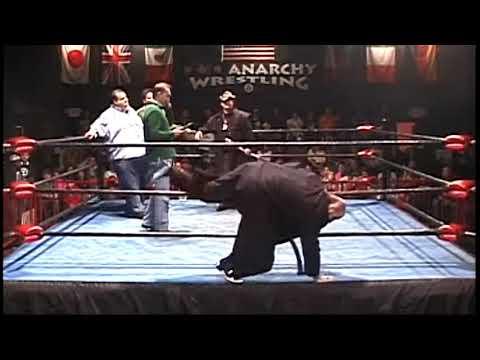 Anarchy's Season's Beatings Franklin Dove w/AJ Styles, Bailey, Posey, Palmer, Anschutz, Platinum