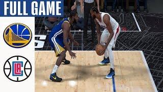 Warriors Vs Clippers   Full Game Highlights! January 10, 2020 Nba Season | Nba 2k20