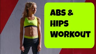 Abs and Hips Workout. 10 Minute Exercise Routine