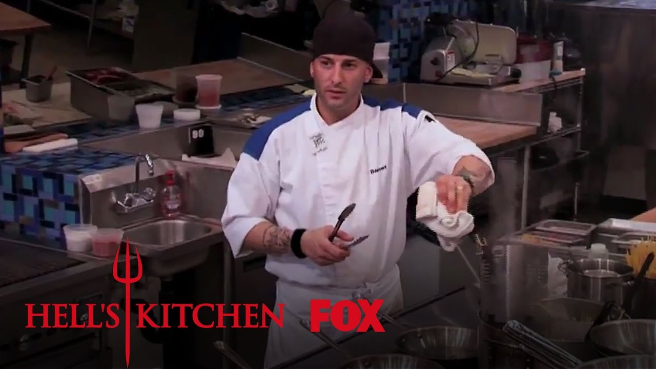 zach wants chef to chill out | season 11 ep. 10 | hell's kitchen