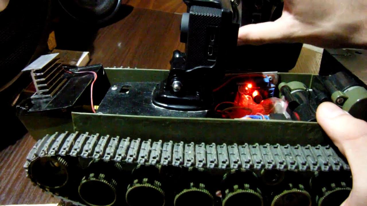 Гусеничный дрон / ver. FPV фотки