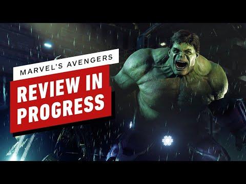 Marvel's Avengers Review in Progress
