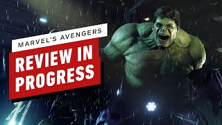 Marvel's Avengers Review in Progress (Video Game Video Review)