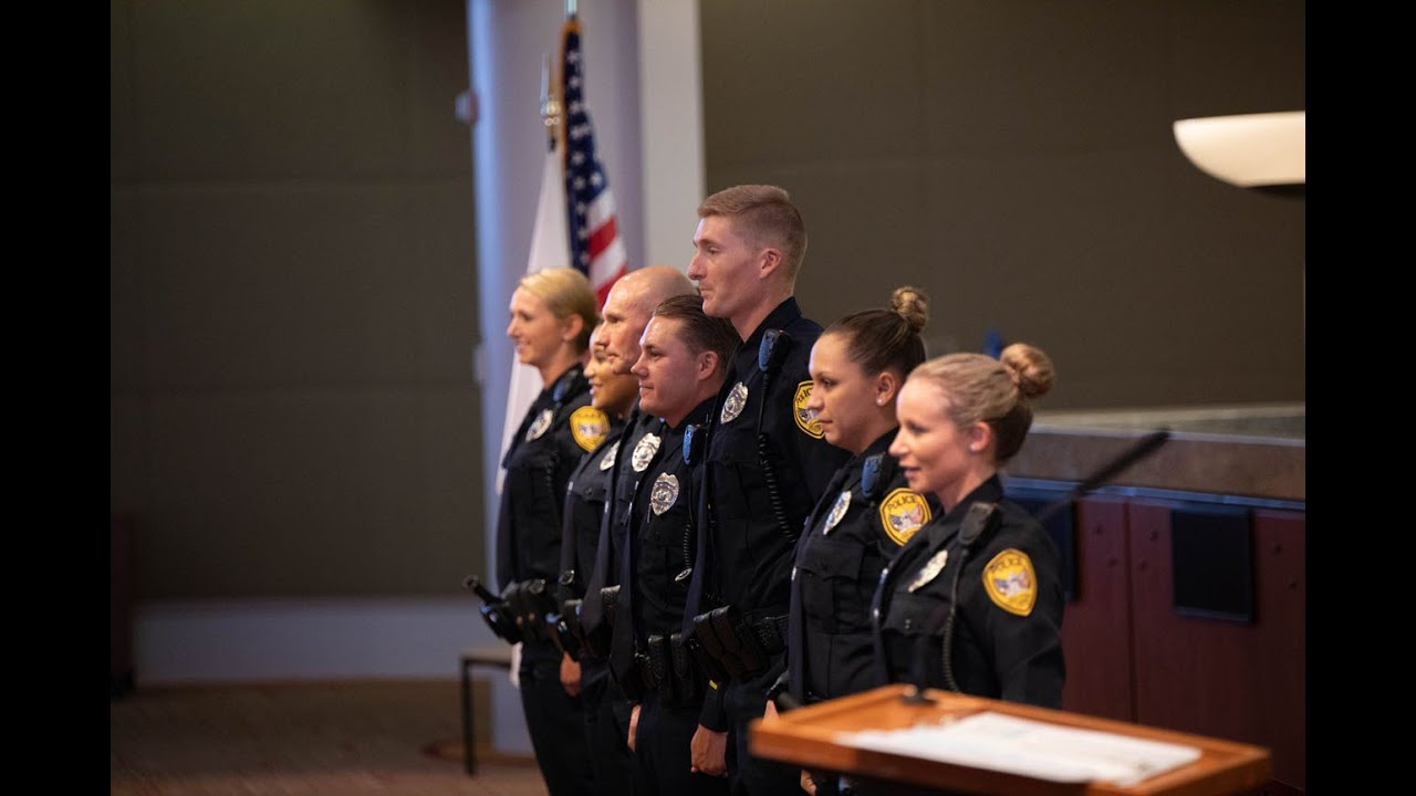 Tallahassee Police Department Swearing-In (July 8, 2019)