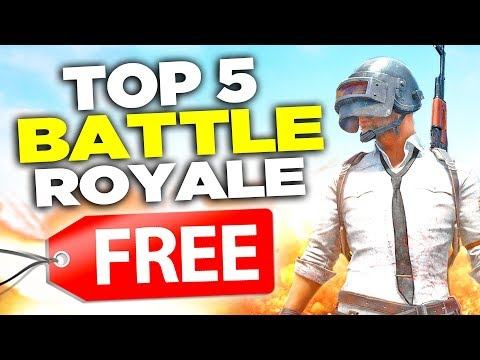 TOP 5 FREE Battle Royale Games! (FREE Games Like PUBG)