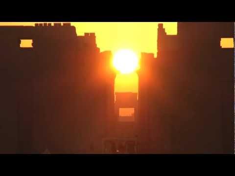 Winter solstice sunrise Karnak