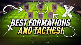 Video BEST FORMATIONS AND TACTICS! - FIFA 18 ULTIMATE TEAM download MP3, 3GP, MP4, WEBM, AVI, FLV Agustus 2018