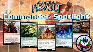 MTG – Aether Revolt EDH/Commander Deck Tech Spotlight for Magic: The Gathering!