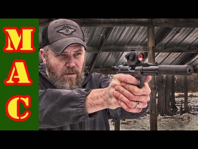 New Ruger Mk IV 22/45 Tactical with DeadAir MASK 22!