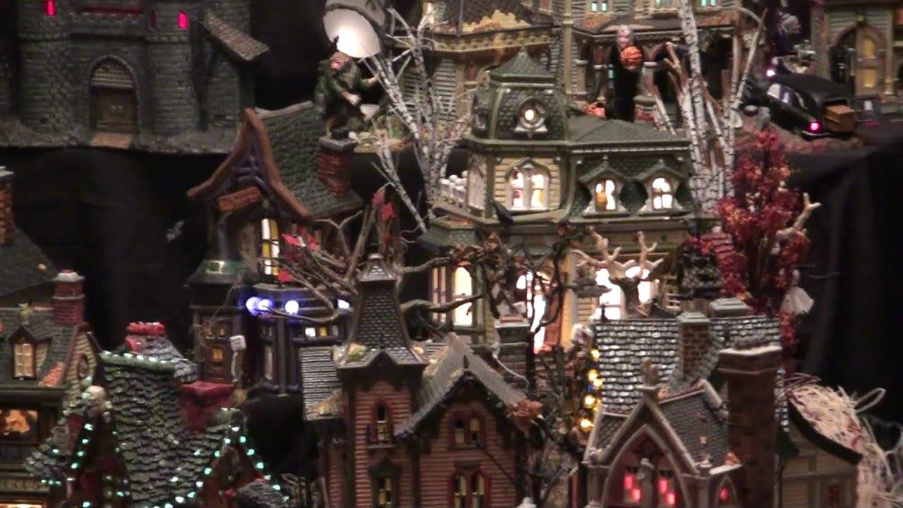 Department 56 Halloween Display 2009