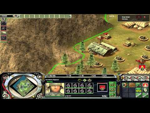 Axis & Allies RTS WWII German Gameplay