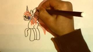 Как нарисовать Блум в виде пони(Как нарисовать Блум в виде пони., 2015-05-12T13:01:01.000Z)