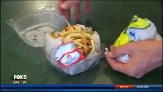 Police Arrest A Woman For Taking 3 French Fries Off The Plate Of A Cop Who Bought It For $3.29