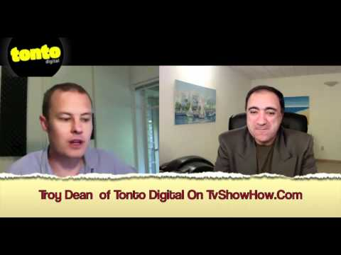 Page 1 one of Google, how to with Australia's Troy Dean Tonto Digital on Tv Show How