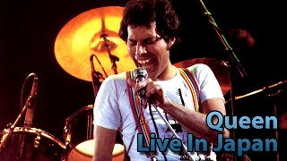 [60fps] Queen Live In Japan 1979 Killer Queen/Bicycle Race/I