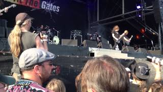 At The Gates Live@Bang Your Head 2013