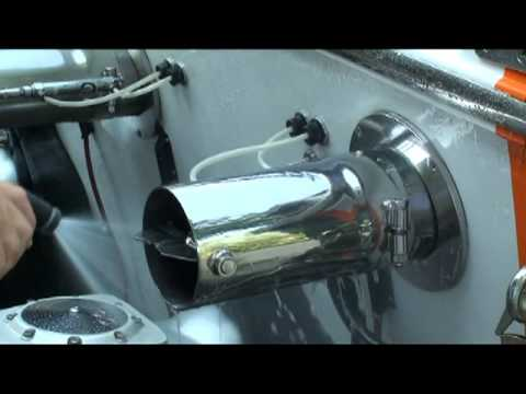 Remove Water Stains Water Spots From Boat Hull Exhaust