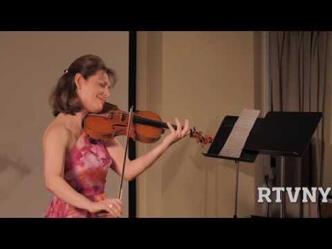 Violonista Irina Muresanu in Recital: Four Strings Around the World