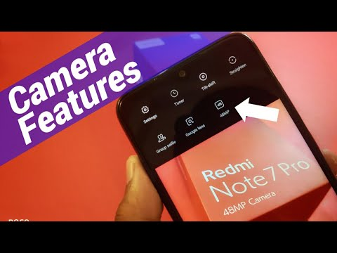 Redmi Note 7 Pro All Camera Features | 48MP Camera Indian Retain Unit
